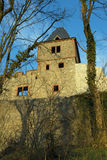 Castle ruin Frankenstein Royalty Free Stock Photography