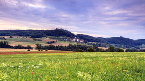 Castle Ruin Giechburg Royalty Free Stock Photos