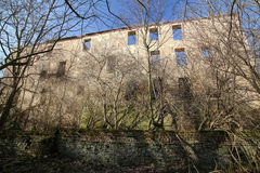 Castle Ruin Haus Zeitz In Saxony-Anhalt Royalty Free Stock Photo
