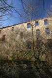 Castle Ruin Haus Zeitz In Saxony-Anhalt. Castle ruin Haus Zeitz near Koennern, Saxony-Anhalt, Germany Stock Image