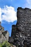 Castle Ruin - Hazmburk Stock Image