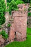 Castle ruin in Heidelberg Royalty Free Stock Image
