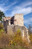Castle ruin Lobdeburg Royalty Free Stock Image