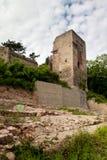Castle ruin Lobdeburg Stock Image