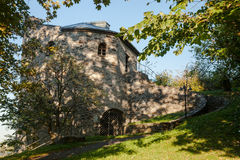 Castle ruin Lobenstein Stock Image
