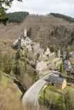 Castle Ruin Manderscheid, Germany Stock Images
