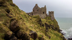 Castle ruin Northern Ireland Royalty Free Stock Photos