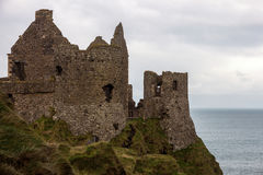 Castle ruin Northern Ireland Stock Photography