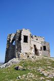 Castle ruin, Teba, Spain. Royalty Free Stock Images