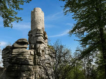 Castle ruin Weissenstein Royalty Free Stock Photography