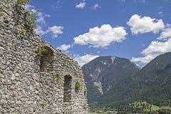 Castle ruin Werdenfels Stock Image