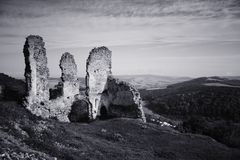 Dark Castle Ruins Royalty Free Stock Image