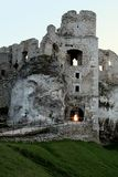 Castle ruins. Ruins of great castle in Ogrodzieniec Stock Photo