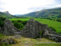 Castle Ruins. Castle Y Bere, Wales Royalty Free Stock Photo