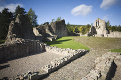 Castle ruins Stock Image
