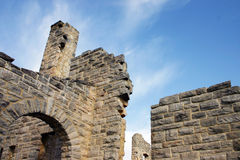 Castle Ruins. At Ha Tonka State Park in Missouri royalty free stock photography