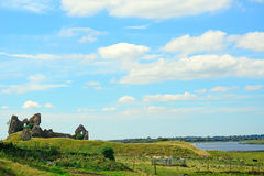 Castle ruins, Clonmacnoise, Ireland Royalty Free Stock Photos