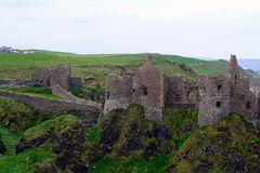 Castle ruins, Dunluce, Northern Ireland Royalty Free Stock Photography