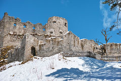Castle ruins Ehrenberg Royalty Free Stock Photos