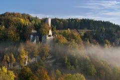Castle ruins Frýdštejn Stock Photos