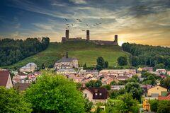 Free Castle Ruins In Checiny, Poland. Stock Images - 201268174