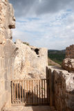 Castle ruins in Israel Royalty Free Stock Photo