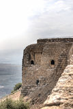 Castle ruins in Israel Stock Image