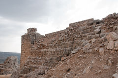 Nimrod castle and Israel landscape Stock Photos