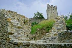 Castle ruins. In Kanfanar, Croatia, Istria Royalty Free Stock Image