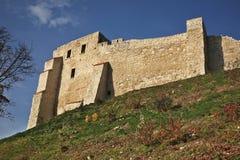 Castle ruins in Kazimierz Dolny. Poland Stock Photo