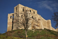 Castle ruins in Kazimierz Dolny. Poland Stock Images