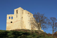 Castle ruins in Kazimierz Dolny, Poland Royalty Free Stock Images