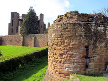 Castle ruins, Kenilworth, Warwickshire. Royalty Free Stock Image