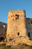 Castle in ruins located in Spain Royalty Free Stock Images