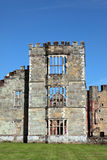 Castle Ruins in Midhurst West Sussex. Run down medieval castle ruins in small town of Midhurst, West Sussex in England Royalty Free Stock Photography
