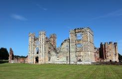 Castle Ruins in Midhurst West Sussex. Run down medieval castle ruins in small town of Midhurst Stock Photos