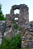 Castle ruins Nevitsky Royalty Free Stock Image