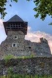Castle ruins Nevitsky Royalty Free Stock Photography