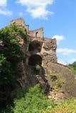 Castle ruins. Old Castle ruins in Heidelberg castle, germany. Koenigsstuhl Stock Photography