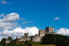Castle Ruins Rabi Stock Photo