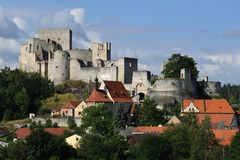 Castle ruins Rabi Royalty Free Stock Photography