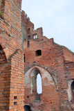 Castle ruins in Radzyn Chelminski, Poland Royalty Free Stock Images