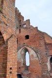 Castle ruins in Radzyn Chelminski, Poland Royalty Free Stock Images