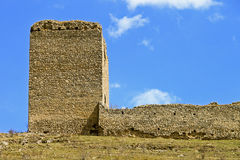Castle ruins of Torockoszentgyorgy, Romania Royalty Free Stock Image