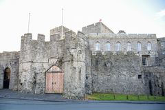 The Castle Rushen in Castletown in the Isle of Man Stock Photo