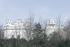 Castle in Rusovce Slovakia Royalty Free Stock Photo