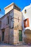Castle of Rutigliano. Puglia. Italy. Stock Image