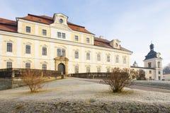 Castle in Rychnov nad Kneznou Stock Photo