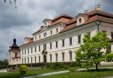 Castle Rychnov nad Kneznou, Czech republic Royalty Free Stock Photo