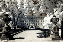 Castle in Rydzyna Stock Photography